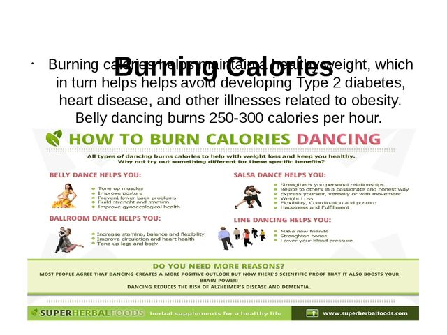 Burning Calories Burning calories helps maintain a healthy weight, which in...