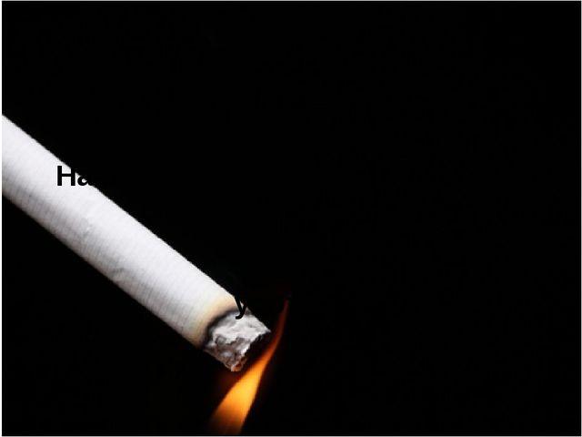 Прежде чем начать употребление сигарет, стоит задуматься о последствиях и о з...