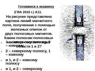 Готовимся к экзамену (ГИА 2010 г.) А11. На рисунке представлена картина лини