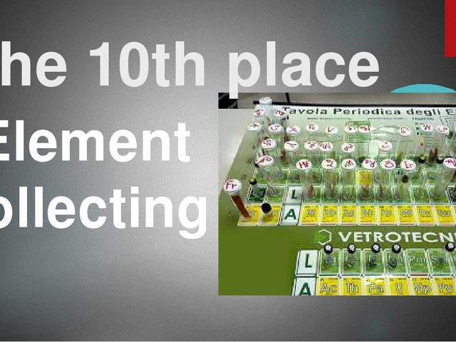 The 10th place Element collecting