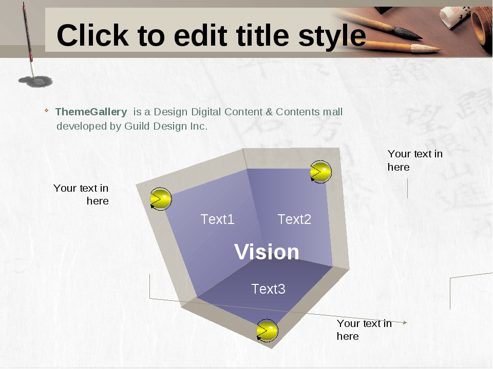 Click to edit title style ThemeGallery is a Design Digital Content & Contents...
