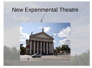 New Experimental Theatre