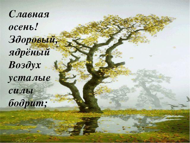 Писаревская Т.П. БСОШ Баган Славная осень! Здоровый, ядрёный Воздух усталые с...
