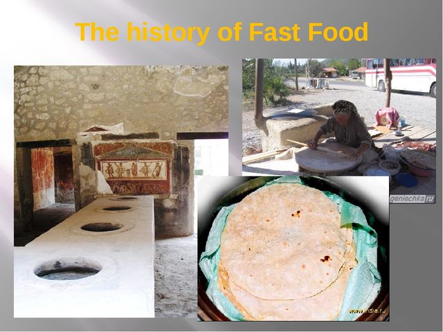 The history of Fast Food