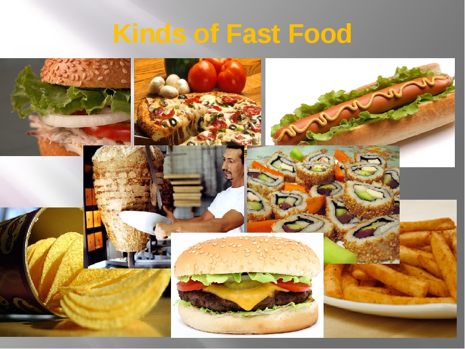 Kinds of Fast Food