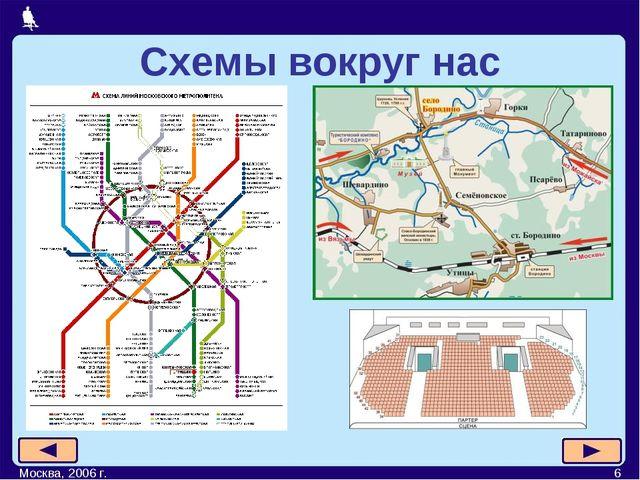 Москва, 2006 г. * Схемы вокруг нас Москва, 2006 г.