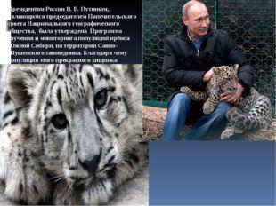 Президентом России В. В. Путиным, являющимся председателем Попечительского со