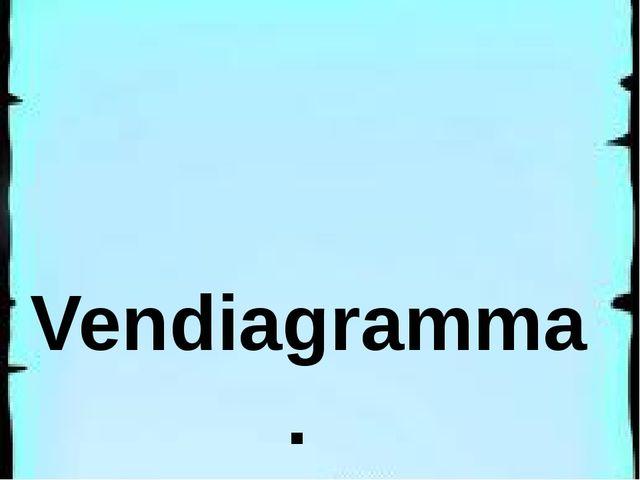 Vendiagramma.