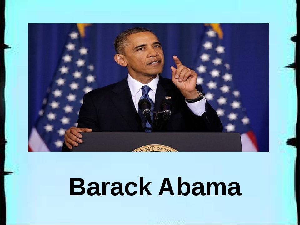 Barack Abama