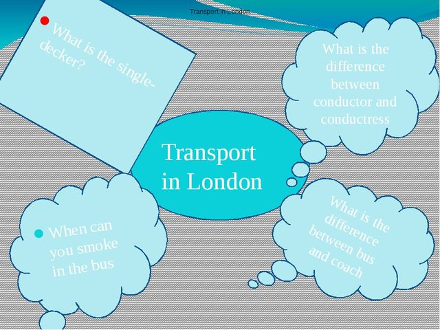 Transport in London What is the difference between conductor and conductress...