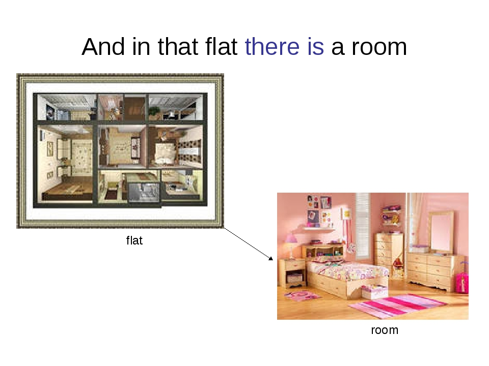 And in that flat there is a room flat room
