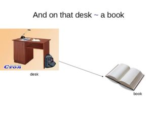 And on that desk ~ a book desk book