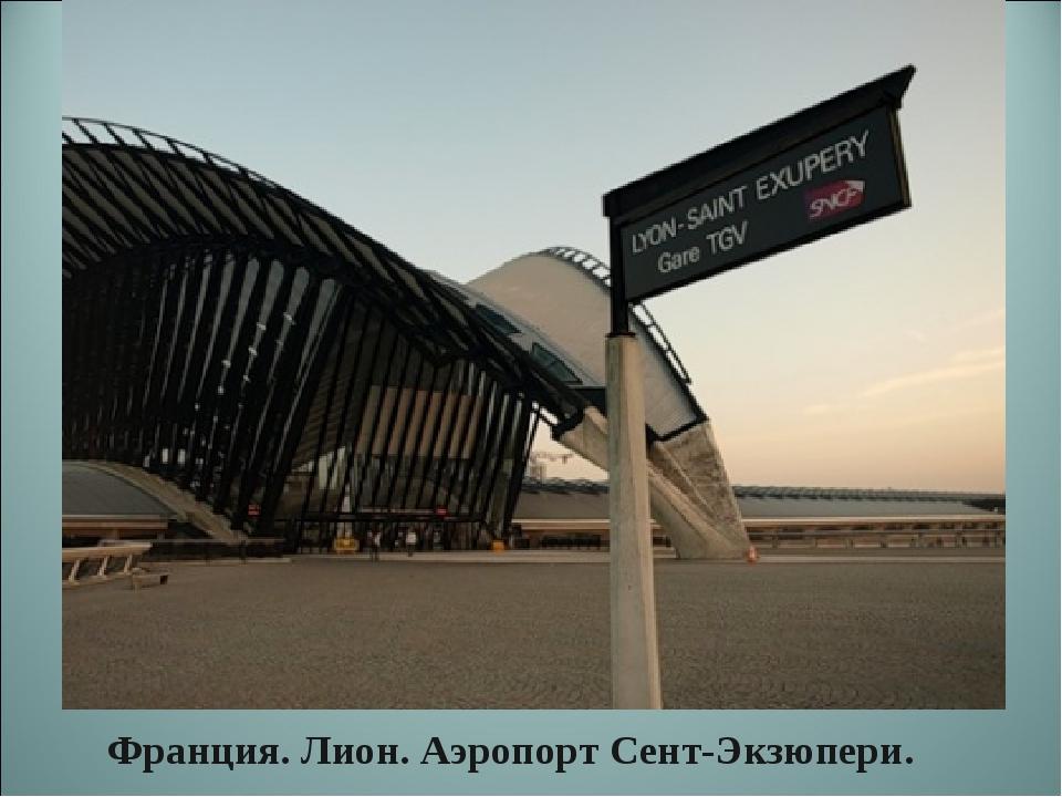 Франция. Лион. Аэропорт Сент-Экзюпери.