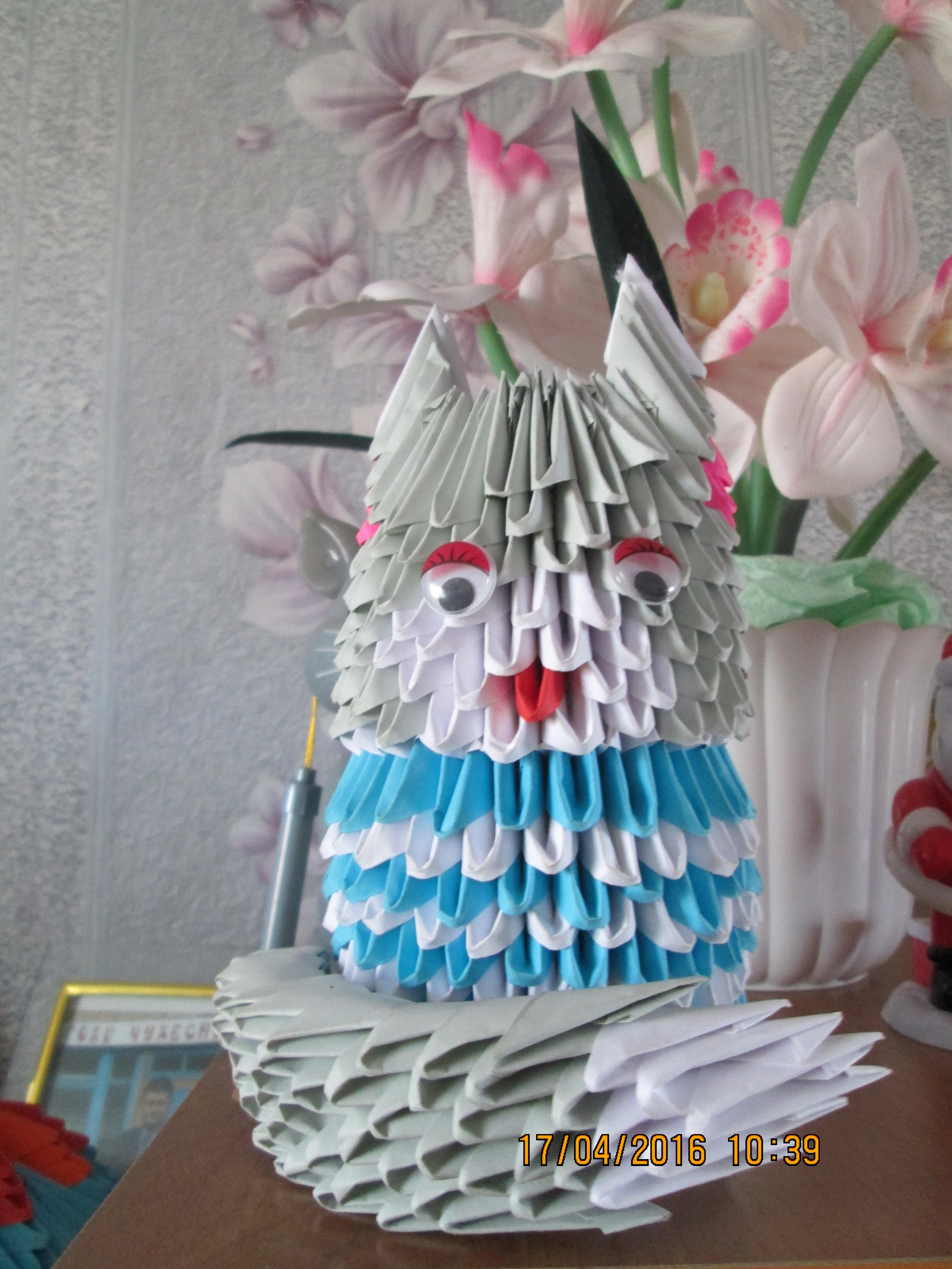 богатеева жар-птица оригами схема