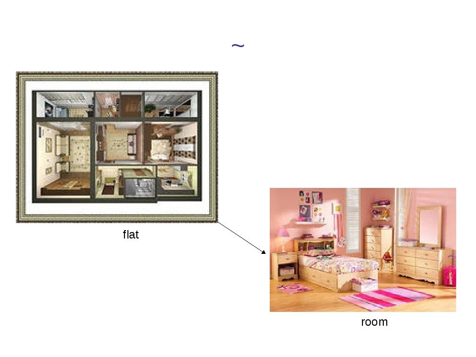 ~ flat room