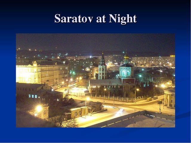 Saratov at Night