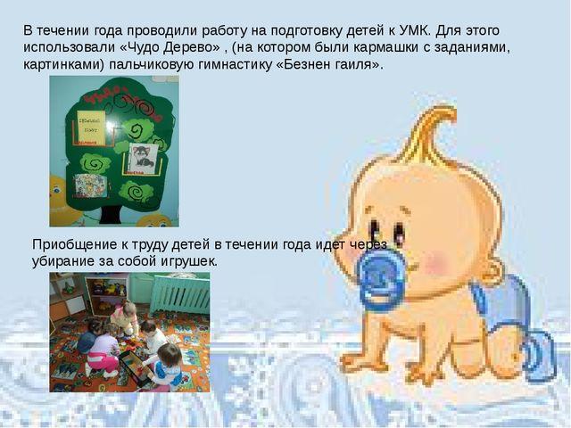 Методическая литература В течении года проводили работу на подготовку детей к...