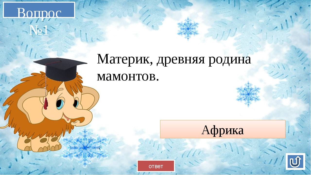 Вопрос №2 Всемирно известный профессор-мамонтовед, фамилия русская Верещагин...