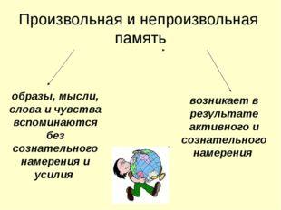 Память представляет собой комплекс процессов, с помощью которых человек восп