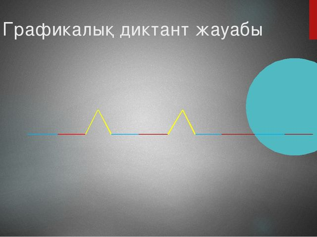 Графикалық диктант жауабы