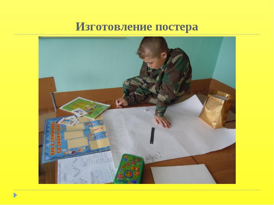 Изготовление постера