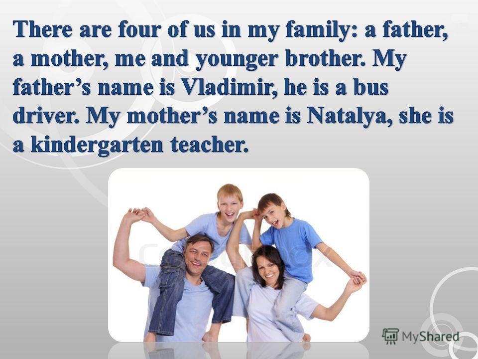 an essay on my family for children All my values developed from my family, and as i grew into an adult, i made them my own values as a child, one is dependent on his or her family for emotional, physical, and mental support the way a person values things is determined by one's upbringing.