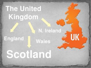 The United Kingdom England Wales N. Ireland Scotland