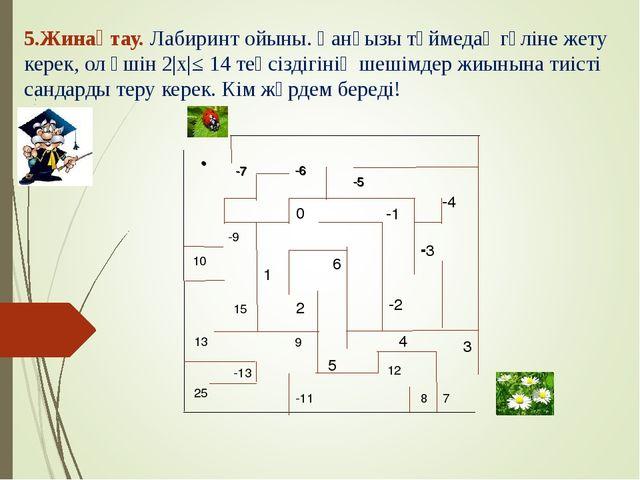 -7 -6 -5 -4 - -2 -1 0 1 2 6 5 3 4 • -7 -6 -5 -3 • -9 7 10 13 25 -11 8 9 12 1...