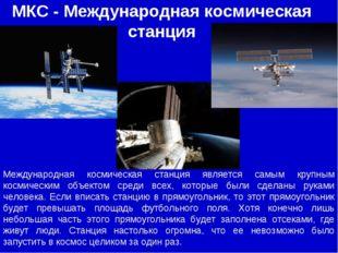 МКС - Международная космическая станция Международная космическая станция явл
