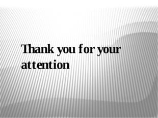 Thank you for your attention