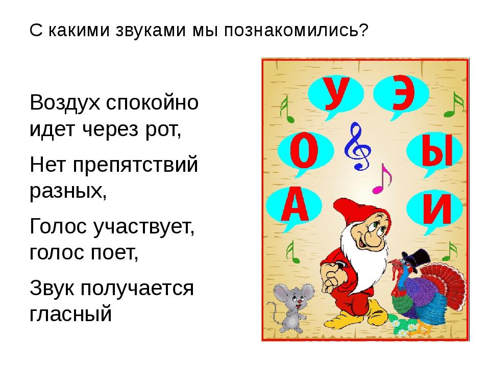 Знакомство С Гласными Сказка