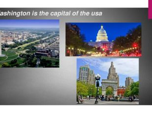 Washington is the capital of the usa