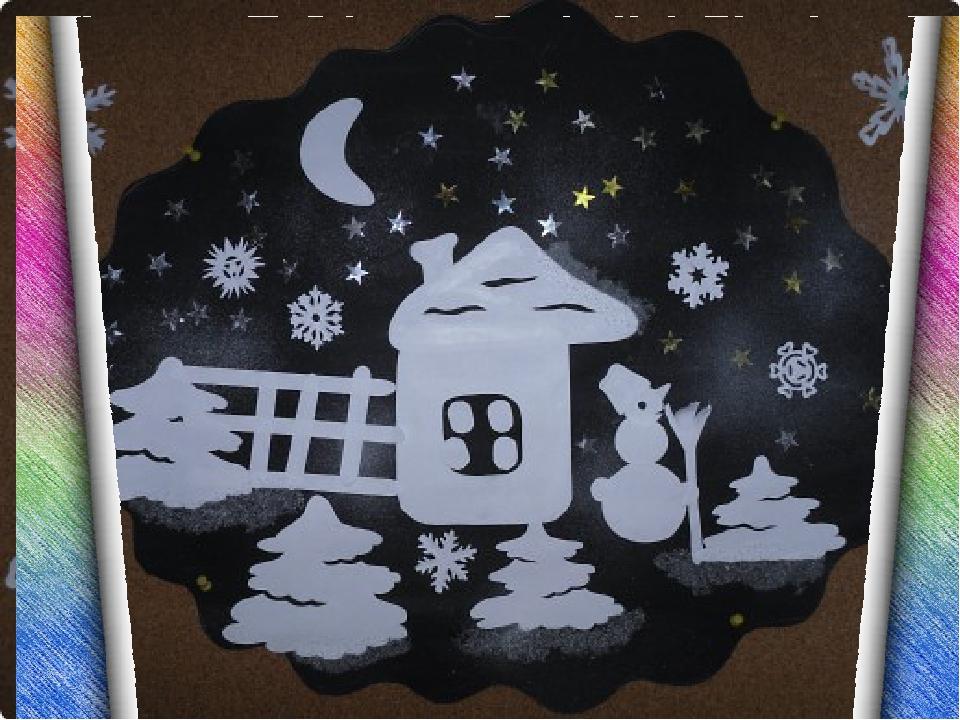 Поделки для детей 3-4 лет на тему зима
