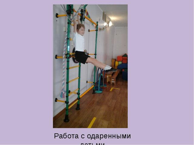 Работа с одаренными детьми