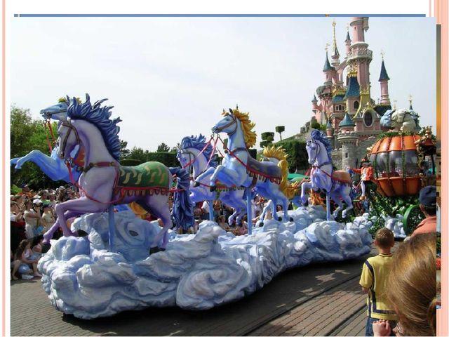 Детский парк создан для развлечений и отдыха. Это особый мир, где всегда весе...
