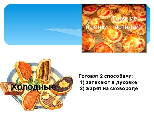 Готовят 2 способами: 1) запекают в духовке 2) жарят на сковороде Горячие (гре...