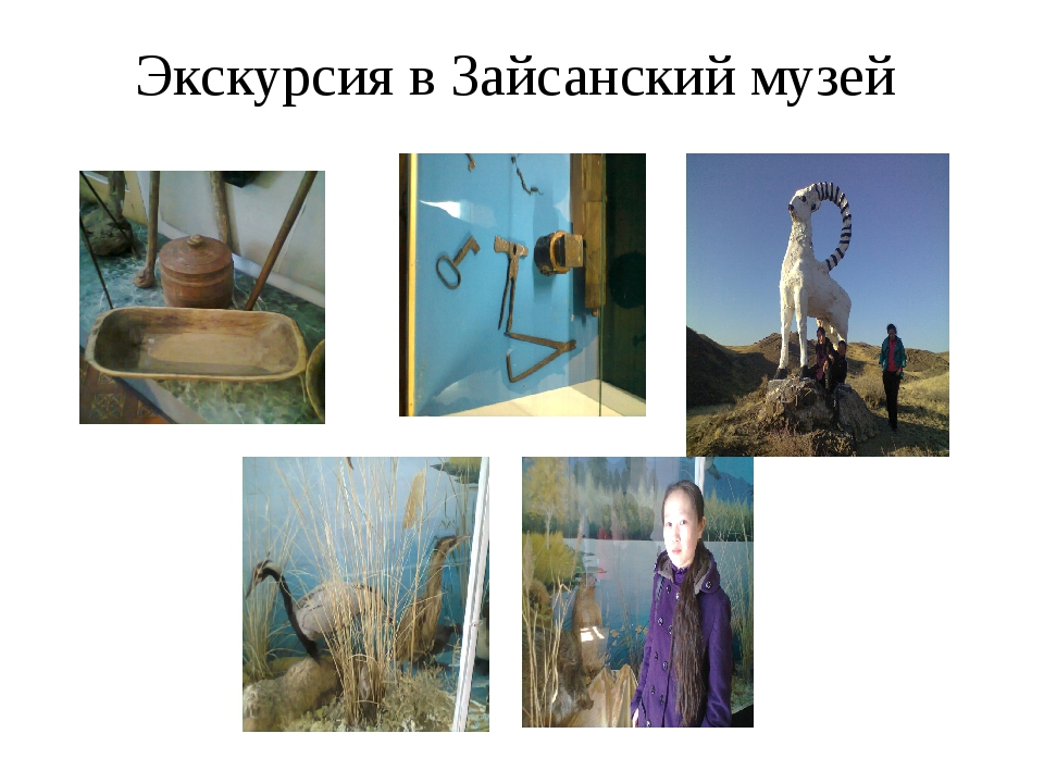 Экскурсия в Зайсанский музей