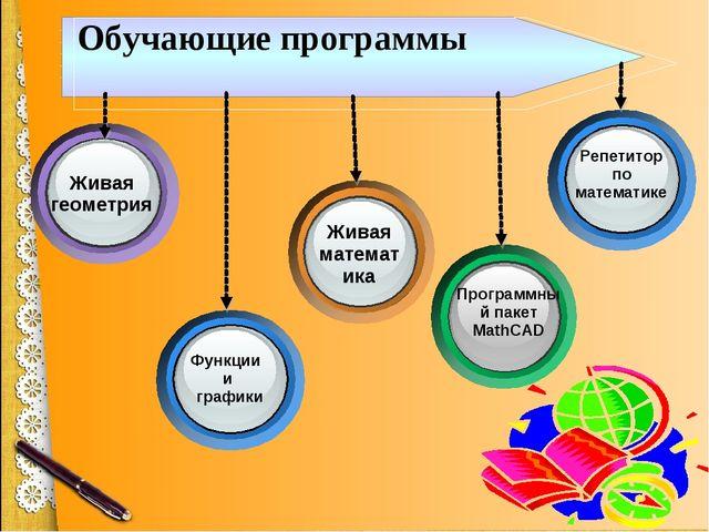 Живая геометрия Функции и графики Живая математика Программный пакет MathCAD...