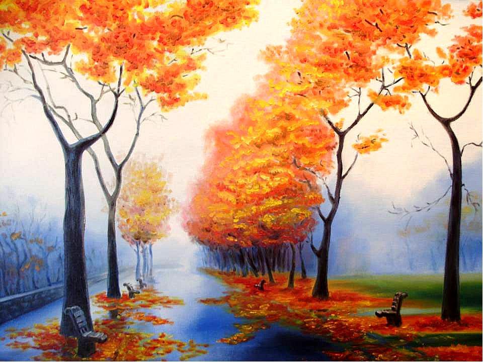 когда фото рисунки на тему осень желаю тебе