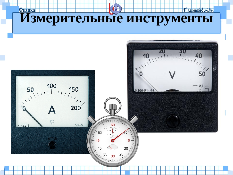 Измерительные инструменты