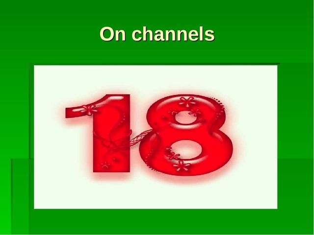 On channels