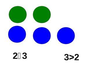2˂3 3>2
