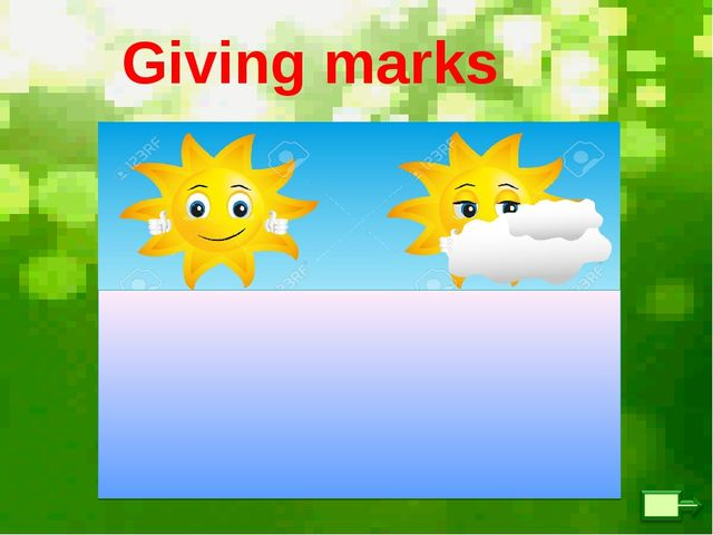 Giving marks