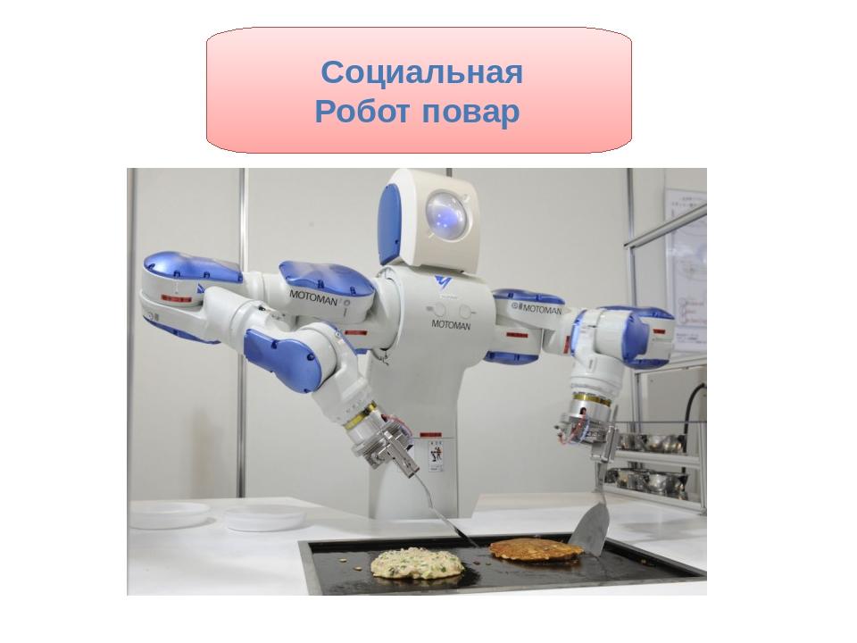 Социальная Робот повар
