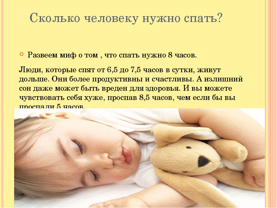 Сколько человеку нужно спать? Развеем миф о том , что спать нужно 8 часов. Л...