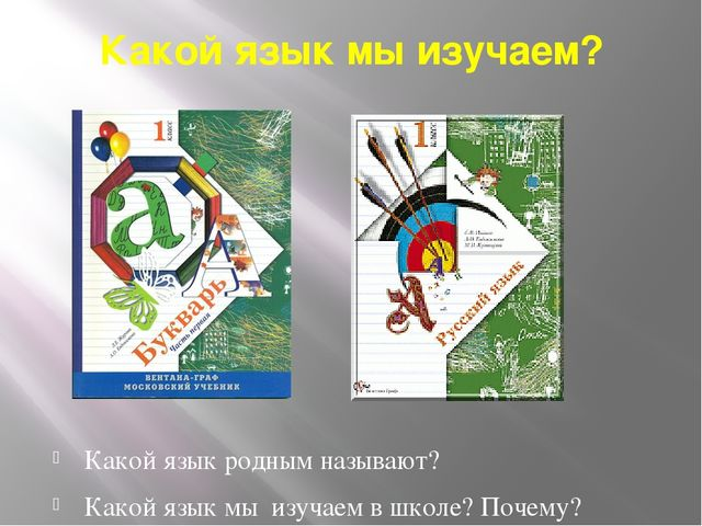 Какой язык мы изучаем? Какой язык родным называют? Какой язык мы изучаем в шк...