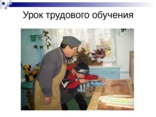 Урок трудового обучения