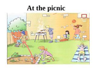 At the picnic