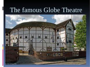 The famous Globe Theatre