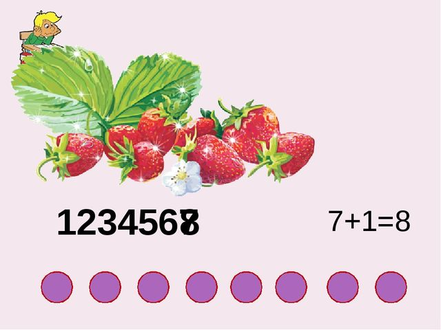 8 1234567 7+1=8
